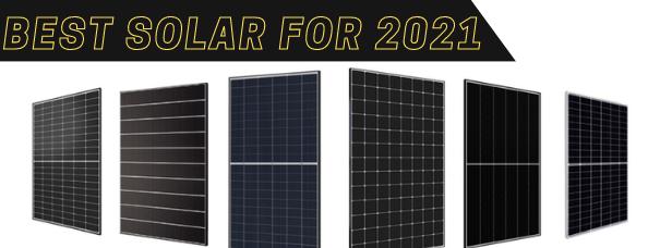 Most Efficient Solar Panels in 2021